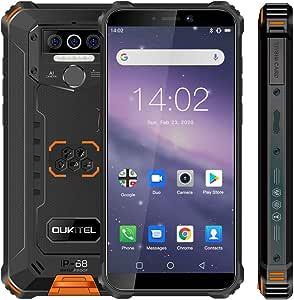 Móvil Resistente, OUKITEL WP5 Telefono Movil Antigolpes, Batería ...