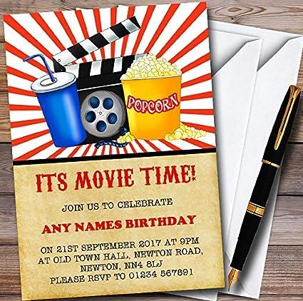amazon com movie night cinema personalized childrens birthday party