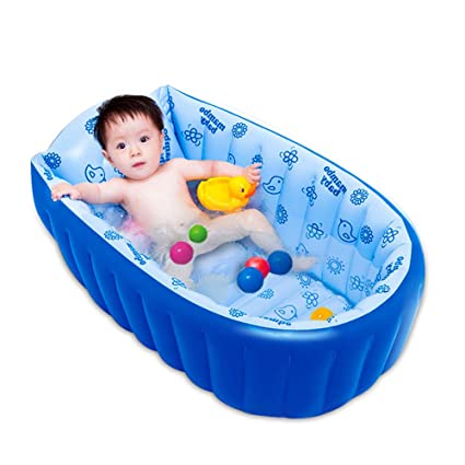 Amazon.com: Zhanghaidong - Bañera inflable para bebé, color ...