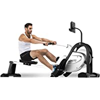 JOROTO Magnetic Rower Rowing Machine with LCD Display 300LB Weight Capacity Row Machine Exercise Rower for Home Gym…