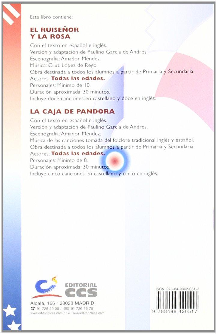 Ruiseñor Y La Rosa. En Castellano Y En Inglés: 9788498420517: Amazon.com: Books