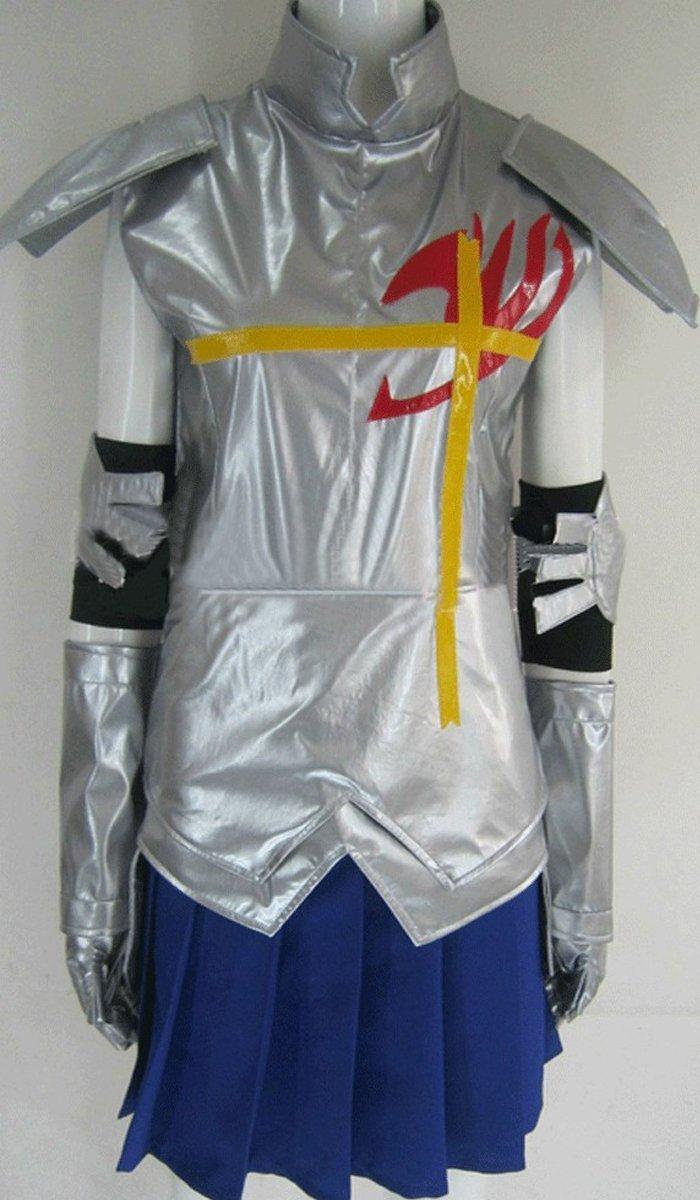 Sunkee Fairy Tail Elza Scarlet costume Cosplay , hecho a medida, tamaño:altura S (155cm-160cm) (por favor dénos su peso, altura, anchura de los hombros, la cintura, el busto y la cadera)