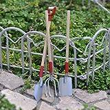 Miniature Fairy Garden Wood and Metal Garden Tool Set, Baby & Kids Zone