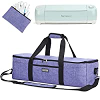 HOMEST Lightweight Carrying Case Compatible with Cricut Explore Air 2, Cricut Maker, Cricut Explore Air, Purple (Patent Design)
