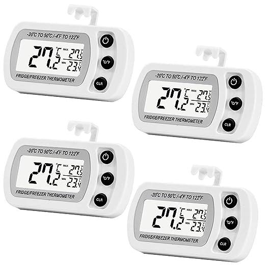 Era - Termómetro digital para frigorífico, mini termómetro para ...