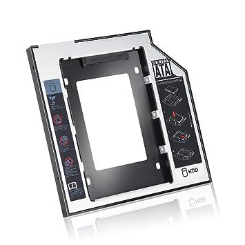 Caddy de Unidad de Disco Duro SSD SSD Universal de Aluminio de 9,5 ...