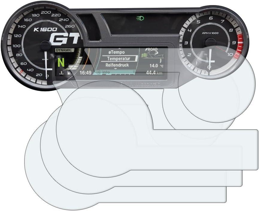 K1600 2017 Displayschutzfolie Tachoschutzfolie 3 X Ultra Klar Auto