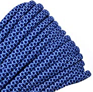 BORED? PARACORD! - 10', 25', 50', 100' Hanks of Parachute 550 Cord Type III 7 Strand Paracord
