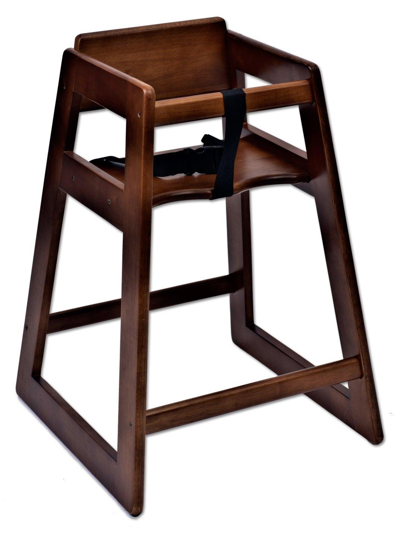 Koala Kare KB800-24 Deluxe Wood High Chair, Dark, 21'' Height, 20'' Width, 29'' Length