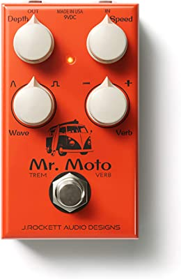 J. Rockett Audio Designs Mr. Moto Tremolo Pedal Image