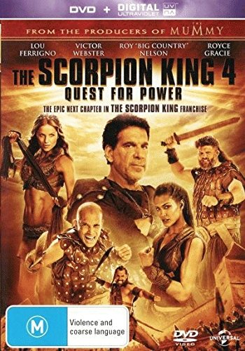 The Scorpion King 4 - Quest For Power [NON-USA Format / PAL / Region 2, 4, 5 Import - Australia]