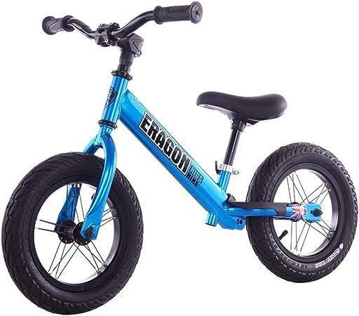 Anxwa - Bicicleta infantil de equilibrio para niños (super ligera, para un control fácil, sin pedal): Amazon.es: Hogar