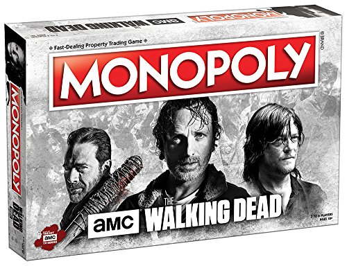 AMC The Walking Dead Monopoly Property Trading Board Game US