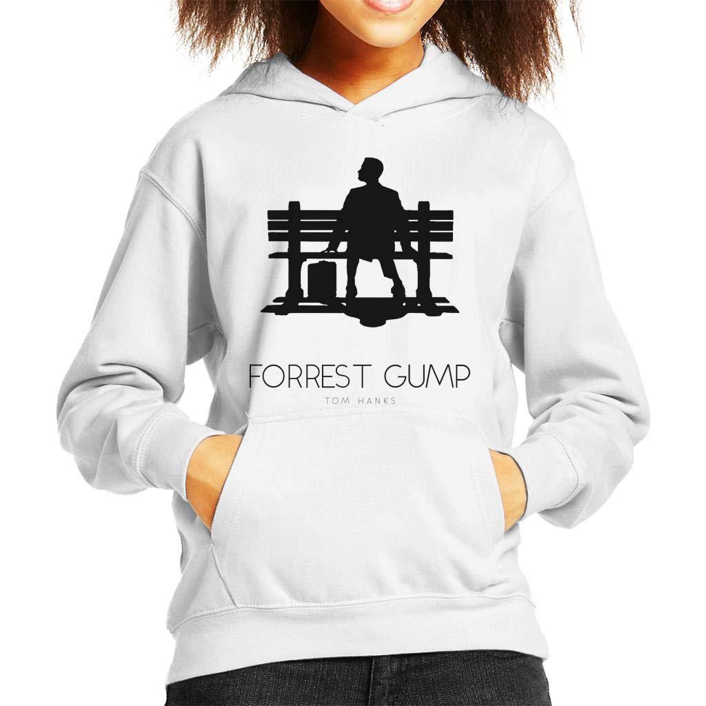 Forrest Gump Bench Movie Silhouette Kids Hooded Sweatshirt: Amazon.es: Ropa y accesorios