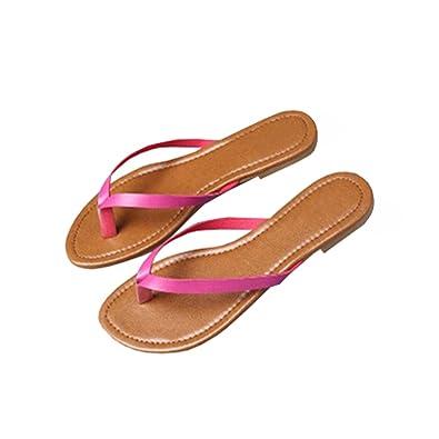Damen Flip Flops Sandalen Schuhe Hausschuhe Glitter Thong Schlank Sommer Strand gdhnQXS2Sr