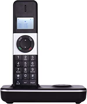 Aibecy LCD Display Digital Cordless Phone Telephone Support 16 Languages 5 Handsets Connection for Office Business Home Family