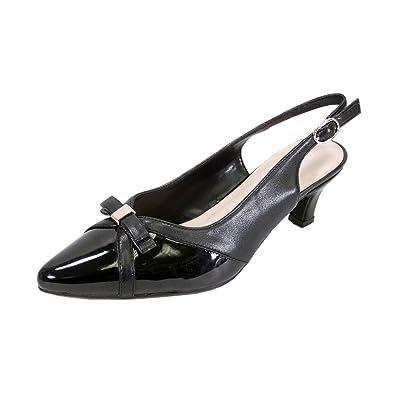 700bb3211354 Peerage Sammy Women Extra Wide Width Dress Shoes Black 7