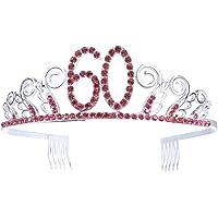 Frcolor Birthday Crowns Rhinestone Birthday Tiara Happy Th Birthday Birthday Party Tiara As Shown