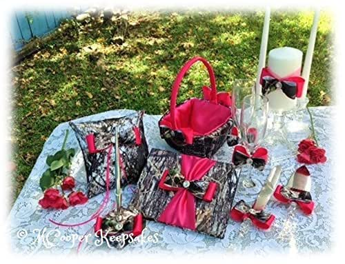Amazon Com Mossy Oak Satin Camo Amp Hot Pink Entire Wedding