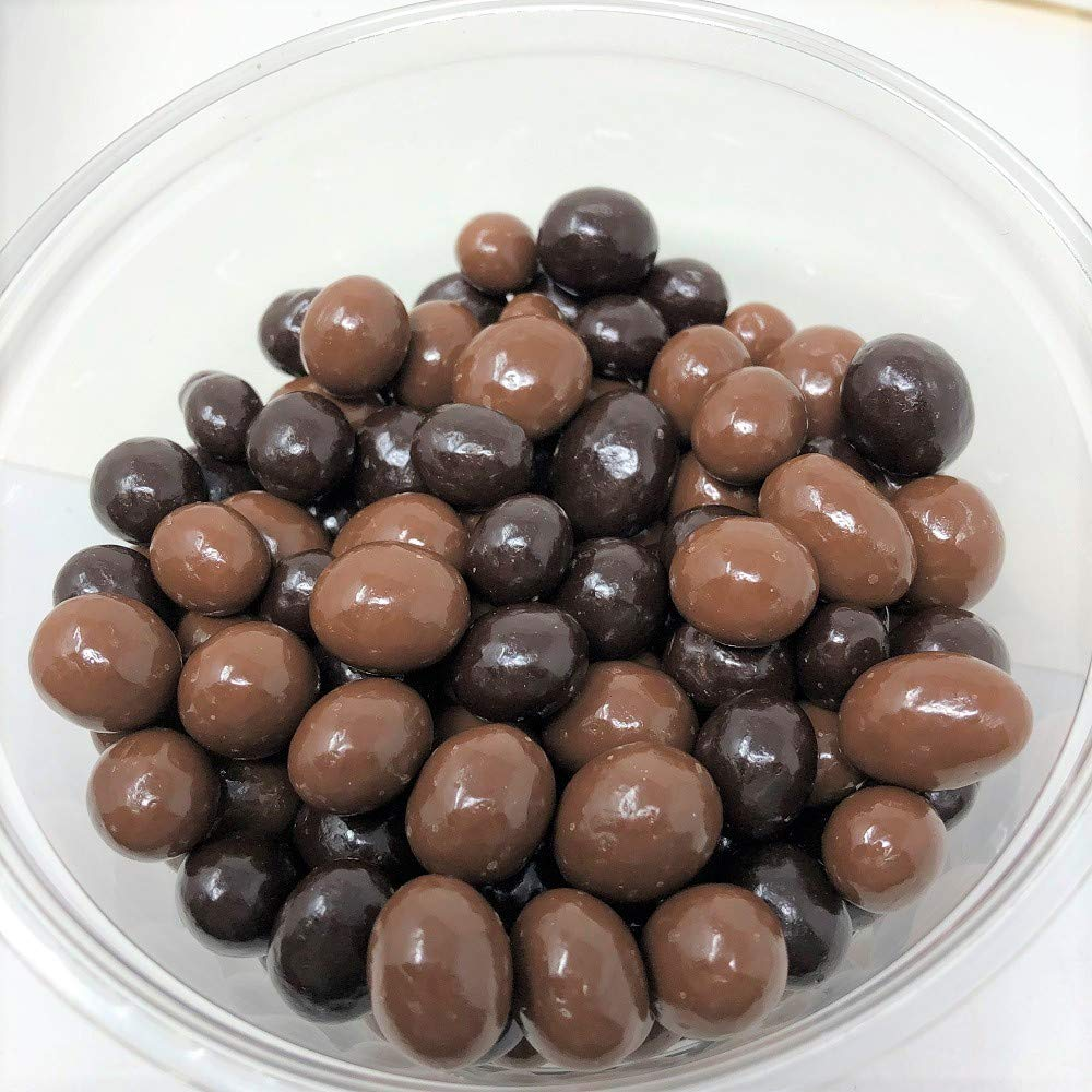 Chocolate covered Coffee Beans Milk and Dark Chocolate Combo 5 pounds by GRANOLA KITCHEN