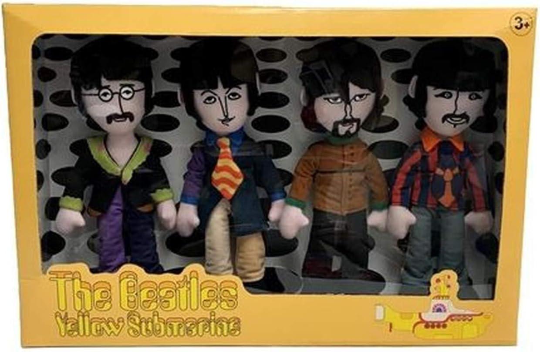 Factory Entertainment The Beatles Yellow Submarine Band Member Plush Box Set