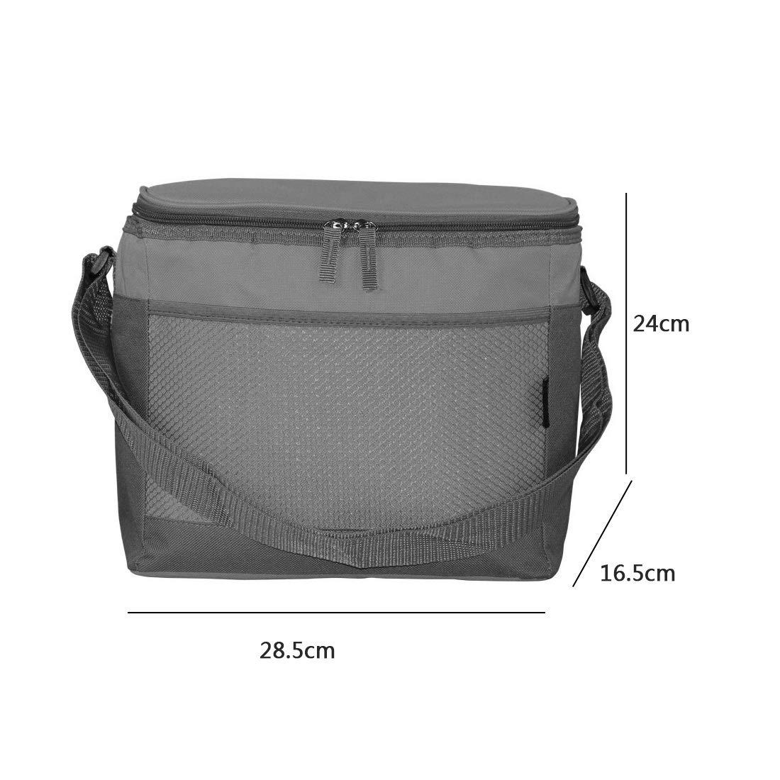 LWBAG FW Isolationspaket, Tragbares Picknick Picknick Picknick Im Freien Isolationskaltes Frischepaket Office School Lunchpaket, 28,5 × 16,5 × 24 cm (Farbe   Grün) B07Q7Y9T72 Taschen Hohe Sicherheit 51a7cb
