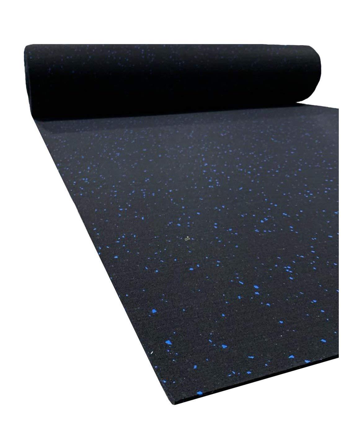 Rollos Jardin202 Rollo 4mm 1,25x15m Suelo para Gimnasio Sport Premium Azul