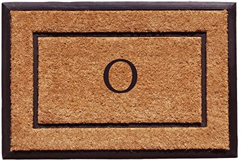 Home More 101632436O The General Monogram Doormat, Letter O