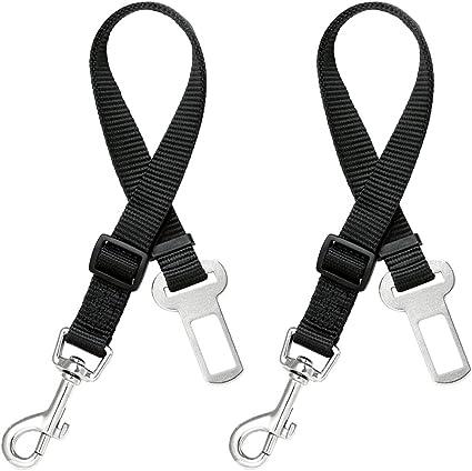 Cinturón de seguridad del perro (2pcs / pack), MAXIN seguridad del ...
