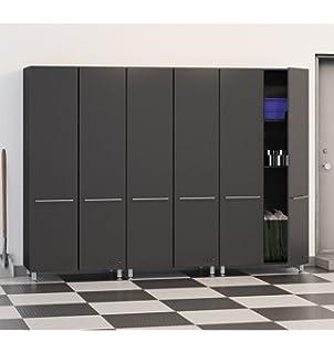 Ulti MATE Garage Storage Package, Graphite Grey/Black (3 Piece)