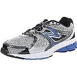 Mens New Balance M680SB2 4E Fitting Wide Running Shoes(Grey/Blue)