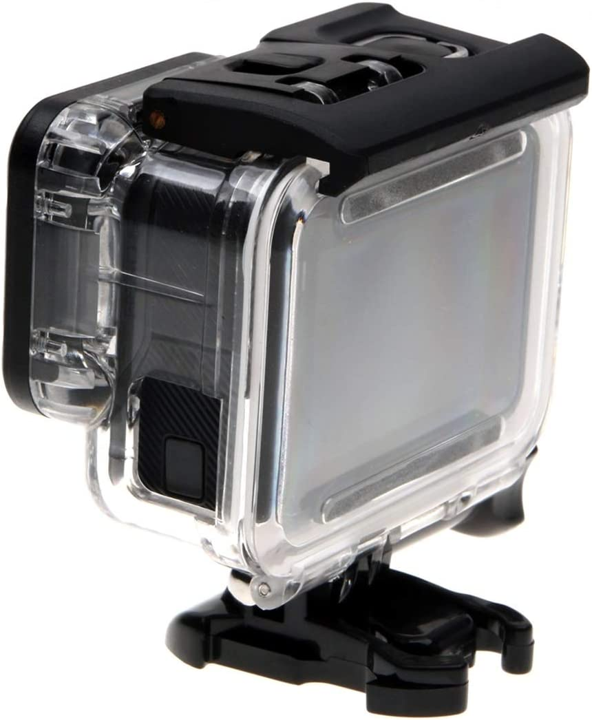 Hollow Back Cover with Buckle Basic Mount /& Screw for GoPro New Hero //HERO6//5 Skeleton Housing Protective Case No Need to Disassemble Lens Durable