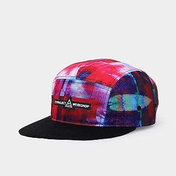 ANLW Unisex Gorra De Béisbol Ajustable Gorras Planas Hombre Hip Hop Gorras Beisbol Organizador Gorras Graffiti Sombrero De Hip Hop Impreso: Amazon.es: ...