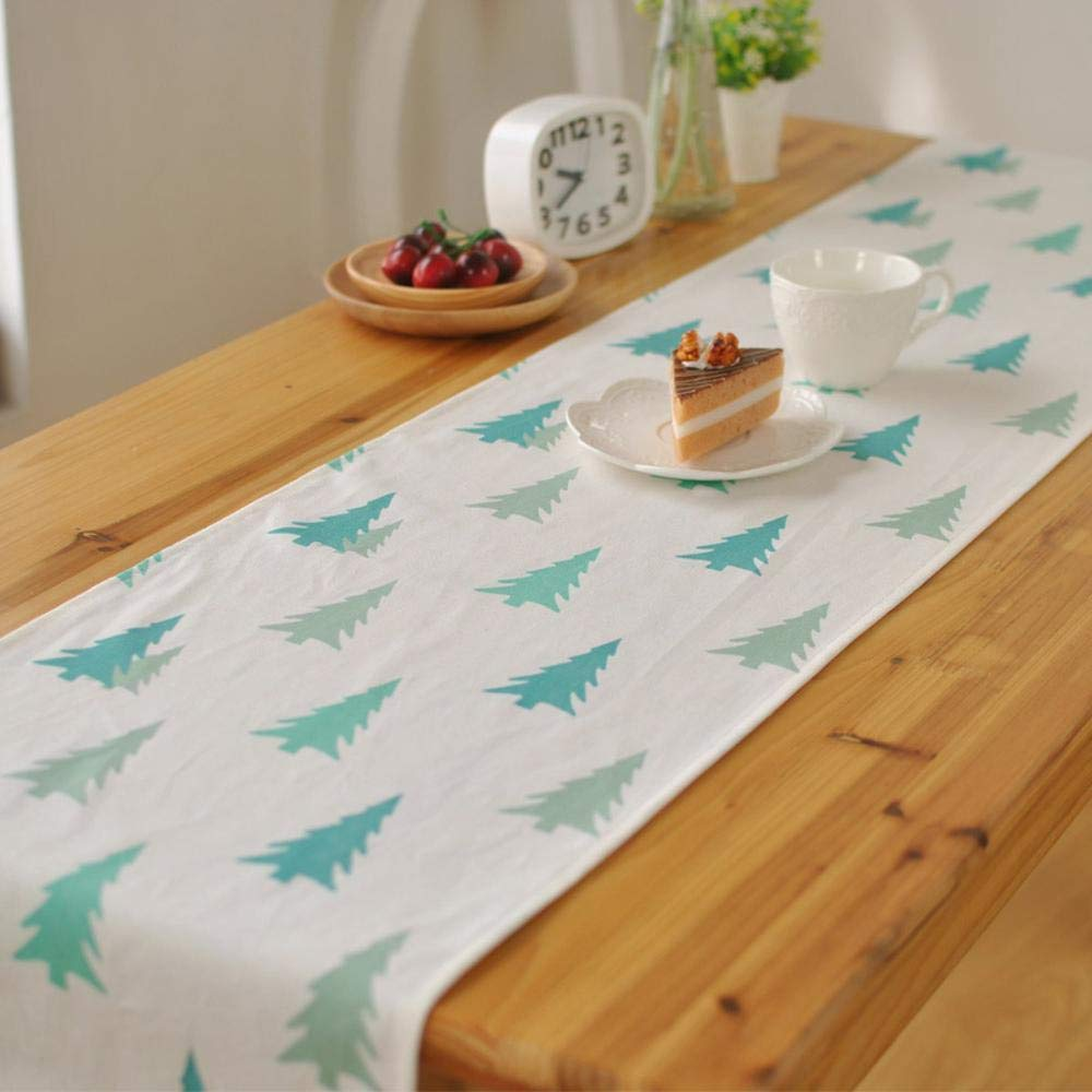 kaige table runners Hotel Café decorate Christmas fabric