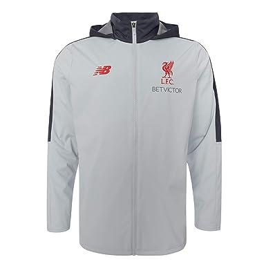 f24f064c3c95 Amazon.com  Liverpool FC Grey Mens Soccer Training Precision Rain Jacket 18 19  LFC Official  Clothing