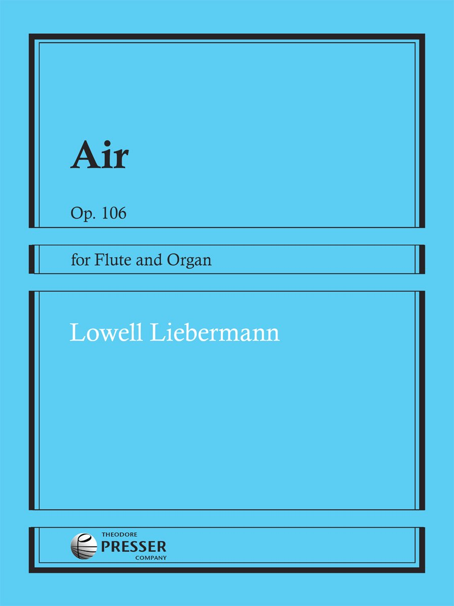 Download Air, Op.106 for Flute and Organ PDF