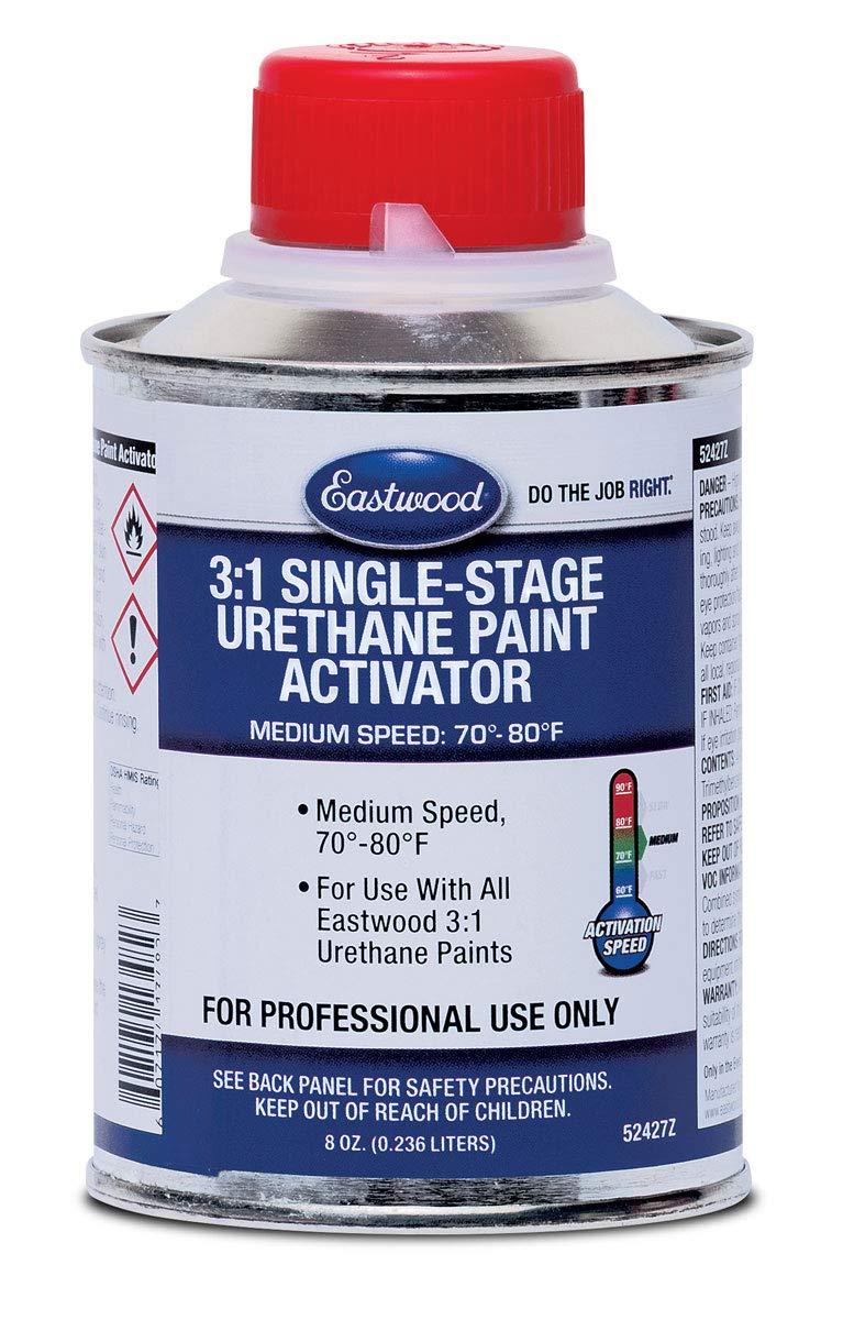 Eastwood 3:1 Single Stage Medium Speed Acrylic Urethane Topcoat Activator 8oz 30 SQ FT