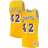 Mitchell & Ness James Worthy Los Angeles Lakers NBA Gold 1984-85 Hardwood Classics Swingman