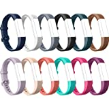 Fitbit Alta HR Bands-Fitbit Alta-Bands-over 12 Colors Small Large, Tryone Adjustable Replacement Accessory Bands/Straps/Bracelet for Fitbit Alta HR-Fitbit Alta for Women/Men(no Fitbit Fitness Tracker)