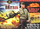 The Dirty Dozen SPECIAL EDITION & Battle of Britain DVD War 2 Pack Military Movie Action Set