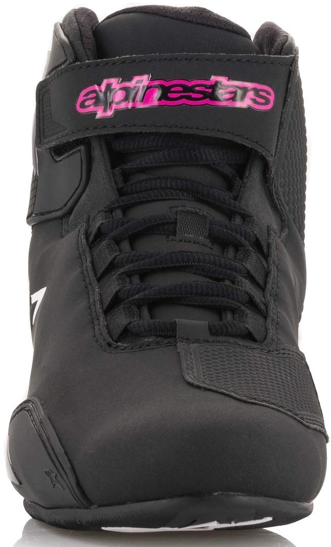 8.5, BLACK FUCHSIA Alpinestars STELLA SEKTOR Womans Riding//Racing Shoe