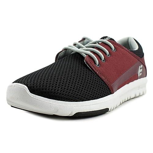 Zapatos Etnies Scout Negro-Rojo-Gris (EU 41/US 8, Rojo