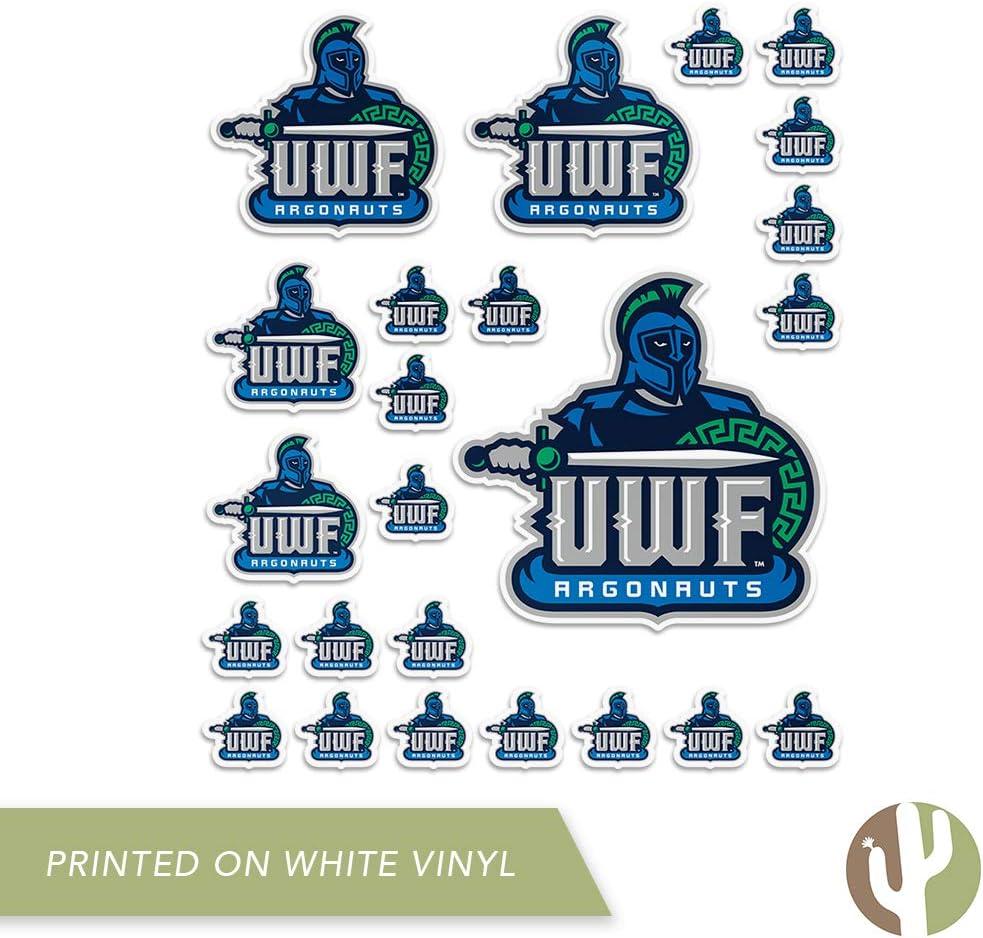 University of West Florida UWF Argonauts Argos NCAA Sticker Vinyl Decal Laptop Water Bottle Car Scrapbook Sheet Type 3-1