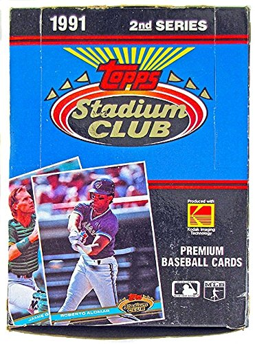 1991 Topps Stadium Club Series 2 MLB Baseball HOBBY box