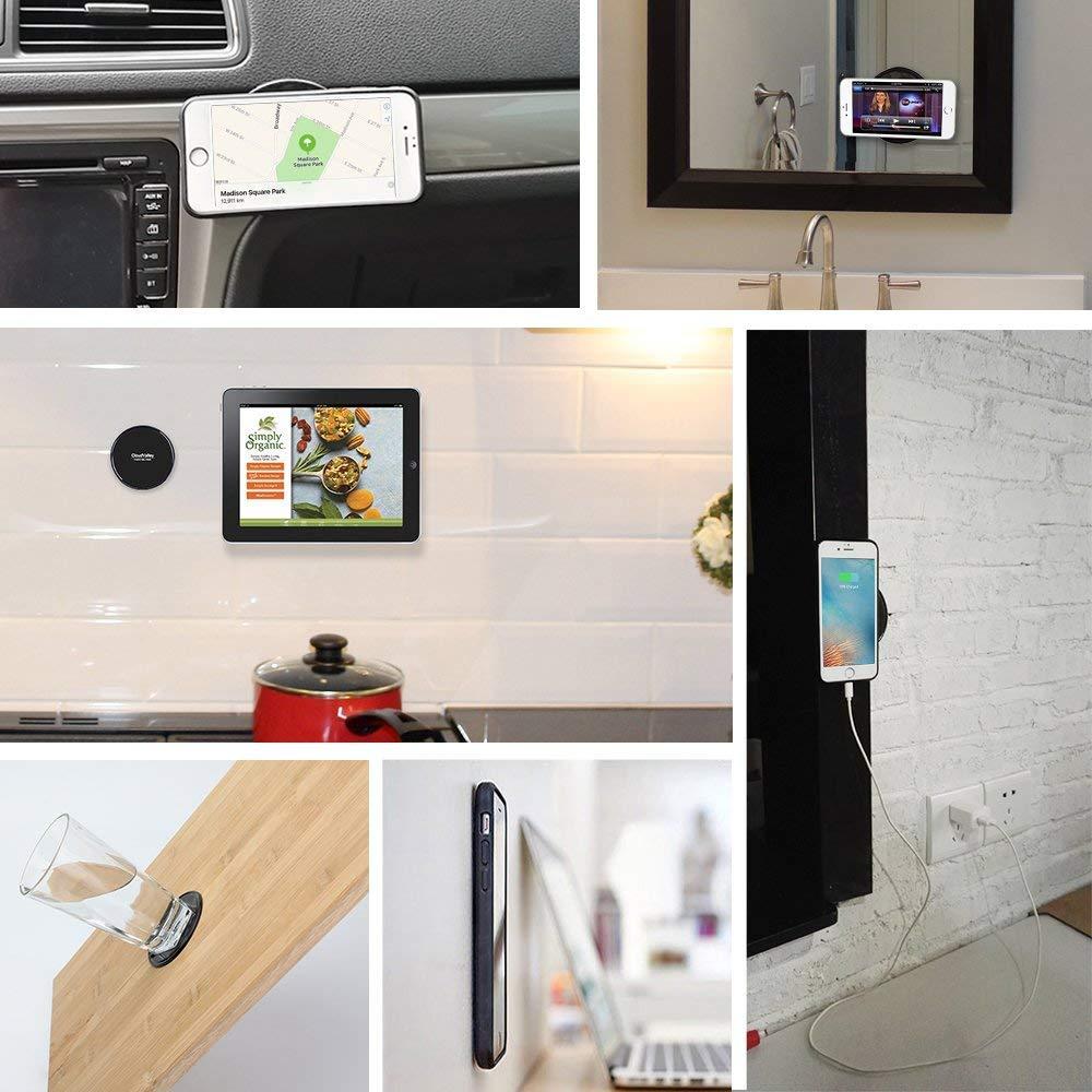 Fixate Sticky Gel Pads Multi Function Non-Slip Magic Gel Pad Universal Flourish Lama Nano Cell Phones Holder Gel Pads Stick to Car Home Office or as Mobile Phone 5PCS Renxingtai 4351482799