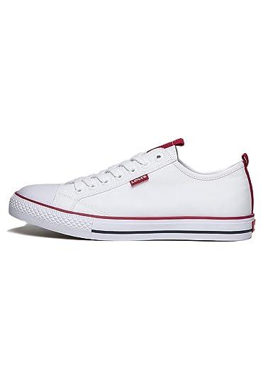 Levis 222134 51 Franklin Herren Sneaker weiß, Größe:40