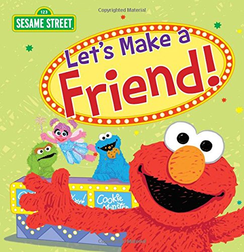 Let's Make a Friend! (Sesame Street Scribbles)