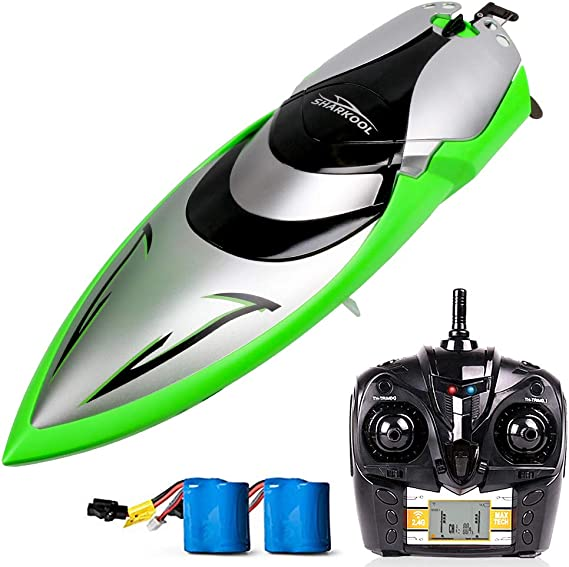 Remote Control Boats - SHARKOOL H106 Rc Self Righting Racing Boats for Boys & Girls