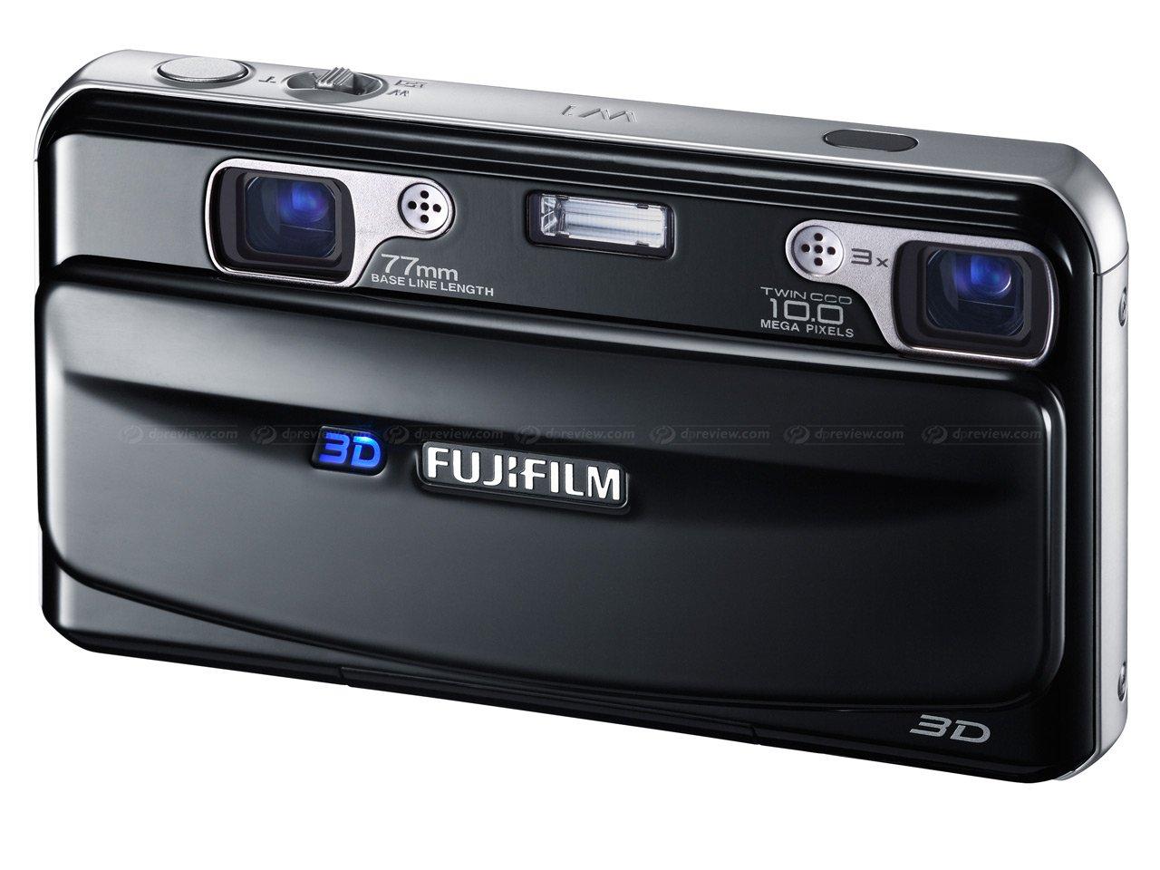 Fujifilm FinePix Real 3D W1 Camera - Black 3D/2D LCD: Amazon.co.uk ...