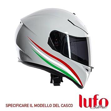 X0001A Adhesivos para casco con la bandera italiana
